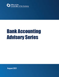 Bank Accounting Advisory Series Cover Image