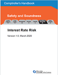 Comptroller's Handbook: Interest Rate Risk Cover Image