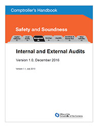Comptroller's Handbook: Internal and External Audits Cover Image