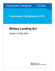 Comptroller's Handbook: Military Lending Act Cover Image